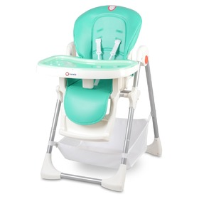 Children dining small chair LIONELO Linn Plus - mint, Lionelo