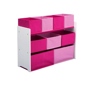 Organizer to toys pink and white, Delta