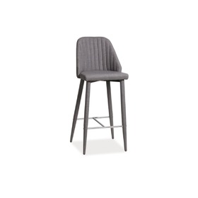 Bar stool JOKO grey, SIGNAL MEBLE