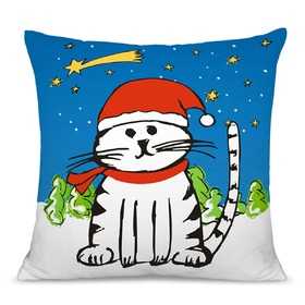 Christmas children pillow 02