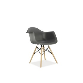 Dining chair MONDI grey, SIGNAL MEBLE