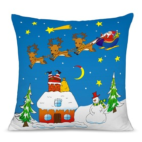 Christmas children pillow 04