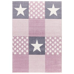 Children's rug STARWALK pink