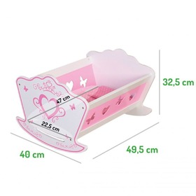 Cradle for dolls, EcoToys