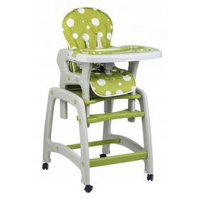 Children dining small chair 3v1 - green, EcoToys