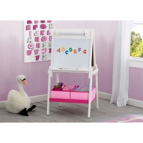 Children's wooden board white, Delta