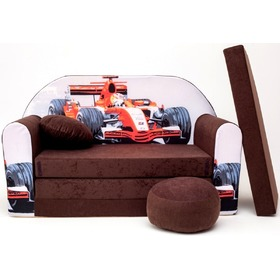 Kids' sofa Formula - brown