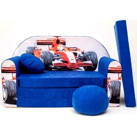 Kids' sofa Formula - blue, Welox