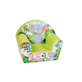 Children's chair Safari - green, Delta-trade