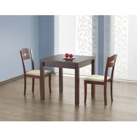 Convertible dining table Gracjan dark nut, Halmar
