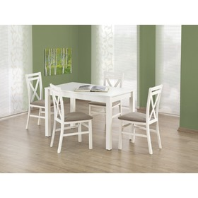 Dining table Xavier white, Halmar