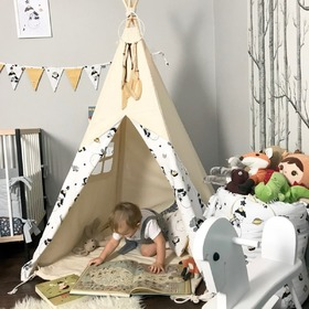 Teepee with washer + trap dreams Small prince, Makaszka