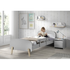Children's bed Kiddy grey