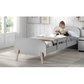 Children's bed Kiddy grey, VIPACK FURNITURE