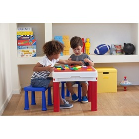 Children table with stools Construct, Keny Toys