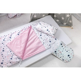 Children sleeping bag with pad Stars 43, Dom-Dekor