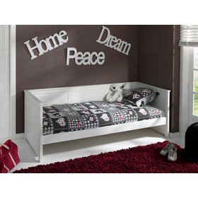 Children's bed Pino - white, VIPACK FURNITURE