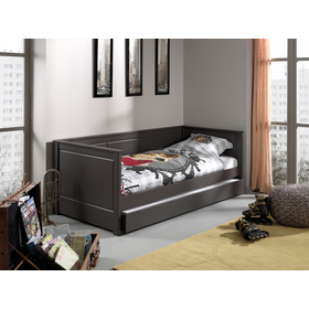 Children's bed Pino - grey, VIPACK FURNITURE
