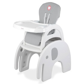Children's dining chair LIONELO Eli grey