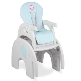Small dining chair for children LIONELO Eli blue, Lionelo
