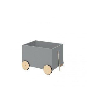 Storage box on wheels Lotti Grey, Bellamy