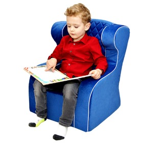 Children armchair Premium blue