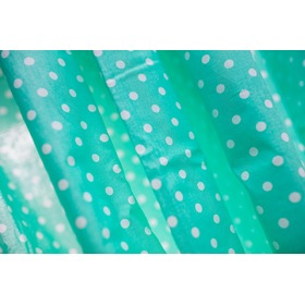 Curtains for children Mint with dots 86, Dom-Dekor