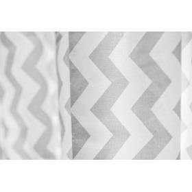 Curtains for children Zig-zag white-gray 5