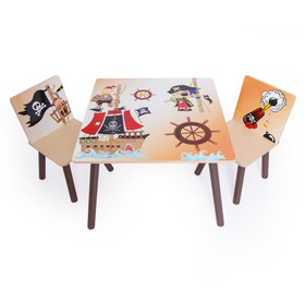 Children's table with chairs Pirate, Homestyle4u