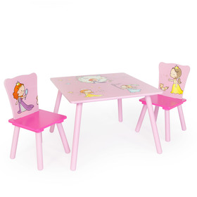 Children table with chairs Princess, Homestyle4u