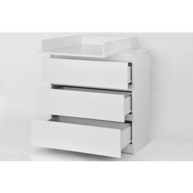 Changing mat + chest of drawers STARDUST - white, Pietrus
