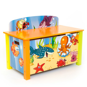 Children's Toy box Sea, Homestyle4u