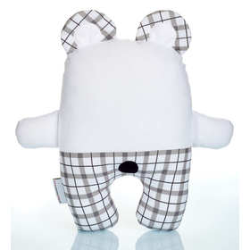 Plushie Teddy in plaid Small