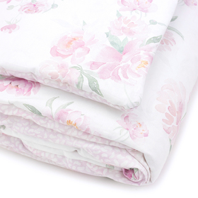 Linen with fillings Peonies, Makaszka