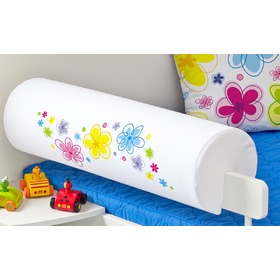 Safety Rail Protector - Flowers, Mint Kitten