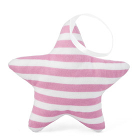 Suspendable decoration Star with pink strips, Mint Kitten