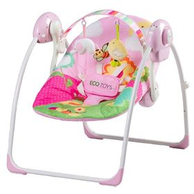 Children's swing pink, EcoToys