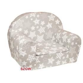 Kids' chair Stars - gray, Fimex