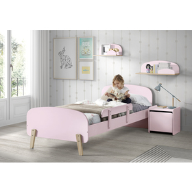 Nightstand Kiddy pink, VIPACK FURNITURE