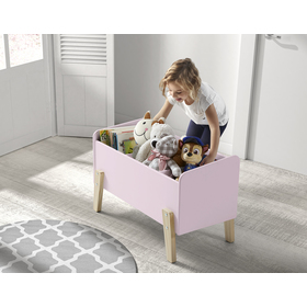 Storage box Kiddy pink, VIPACK FURNITURE