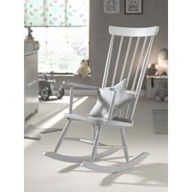 Rocking chair ROCKY gray, VIPACK FURNITURE