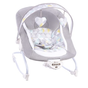 Baby lounger LIONELO Zoe gray, Lionelo