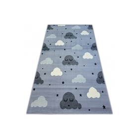 Children's rug Clouds