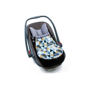 ootmuff to car seats TRIANGLE, Gluck Baby