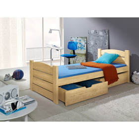 Wooden bed ROMA pine