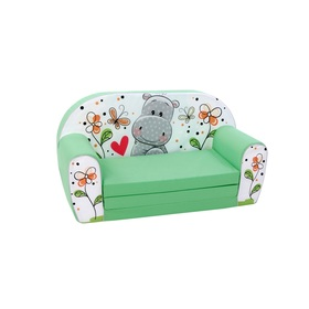 Children sofa Bafana - green