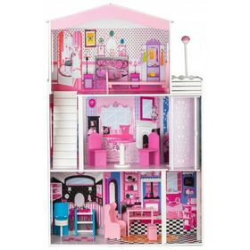 Wooden house for dolls Miami, EcoToys