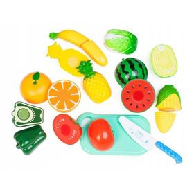 Fruits and vegetables for cutting, EcoToys