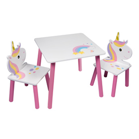 Child table with chairs - Unicorn II, Globalindustry