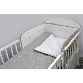 Bedding set for cribs Constellation 120x90 cm, Ankras